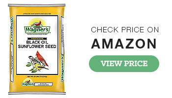 Wagners Black Oil Sunflower Bird Seed