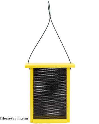 Woodlink Going Green Finch Mesh Feeder - Yellow