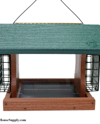 Woodlink Going Green Premier Feeder with Suet Cages - Large