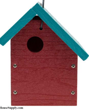 Woodlink Going Green Wren House - Sloped Roof Birdhouse