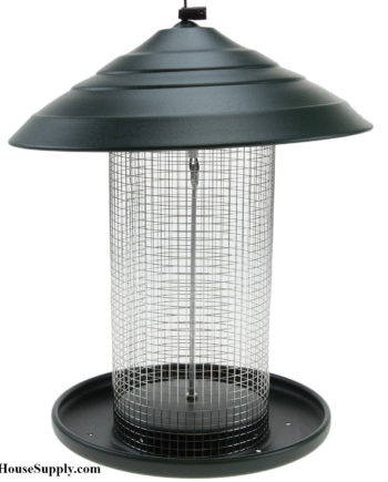 Woodlink Sunflower Feeder - Green Steel Magnum