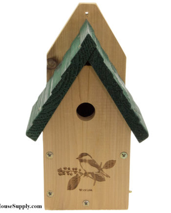 Woodlink Garden Wren or Chickadee House