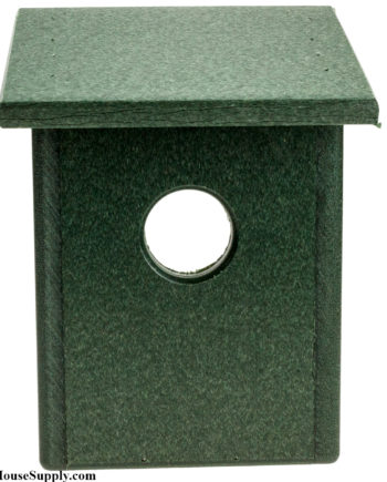 Recycled Plastic Window View Birdhouse