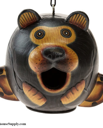 Songbird Essentials Black Bear Gord-O Birdhouse