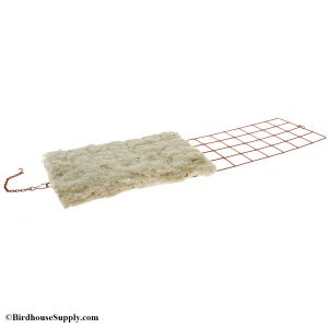 Songbird Essentials Hummer Helper Cage and Nesting Material