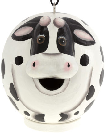 Songbird Essentials Cow Gord-O Birdhouse