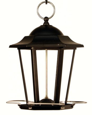 Woodlink Black Carriage Lantern Feeder