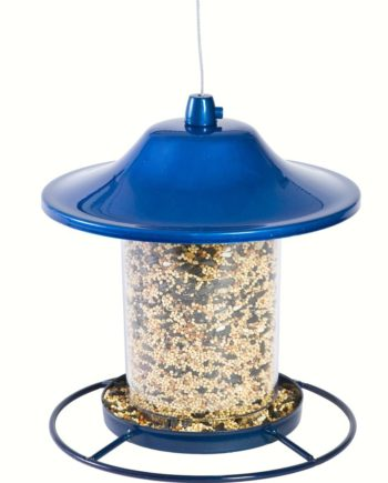 Perky Pet Blue Sparkle Panorama Feeder